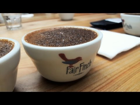 Coffee cupping || Coffee from World Barista Championships 2016 Dublin