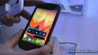 Huawei Ascend P1 LTE hands on demo - CES 2012 (Android)
