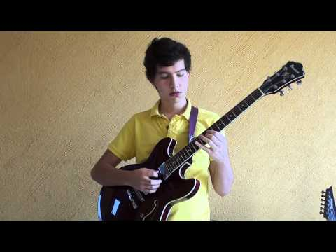 Peter Bernstein - Let's Cool One - Solo Transciption by Marcos Toledo