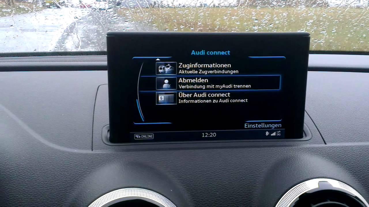 Audi A3 Sportback: MMI Navigation plus mit MMI Touch ...