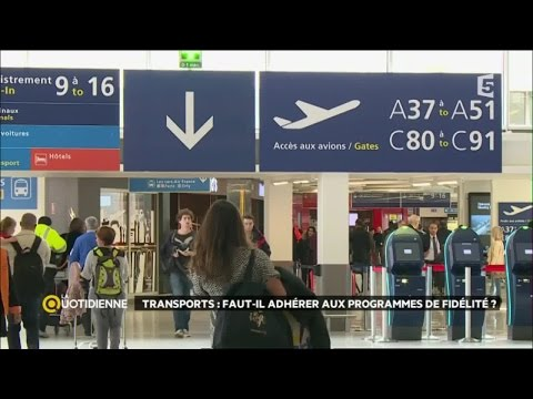 Trains, avions : faut-il adhérer aux programmes de fidélité ?