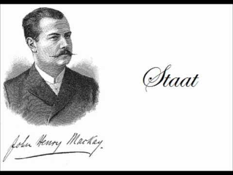 John Henry Mackay - Staat