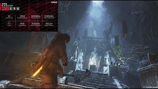 Rise of The Tomb Raider Sapphire AMD Radeon RX 590 NITRO+ Ryzen 5 2600 8GB RAM Banchmark