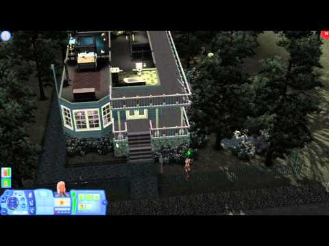 The Sims 3 Gameplay Demo: Architecture In Midnight Hollow