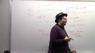 Brandon Sanderson Lecture 6: Some alternatives to cons (2/6)