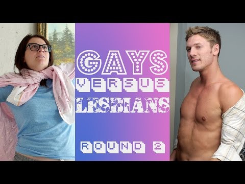 Gays Vs Lesbians - Fashion Face Off video