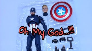 [NgoBar] Review Sh Figuarts (Shf) Captain America Civil War Bootleg