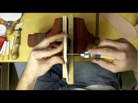 Part 7-12 How to Make a Leather Holster