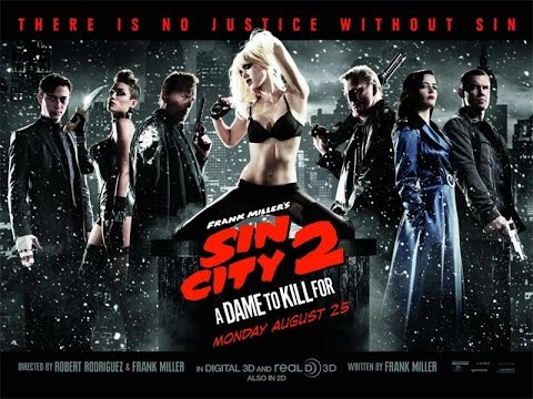 Sin City: A Dame to Kill For - Official Comic Con Red Band Trailer