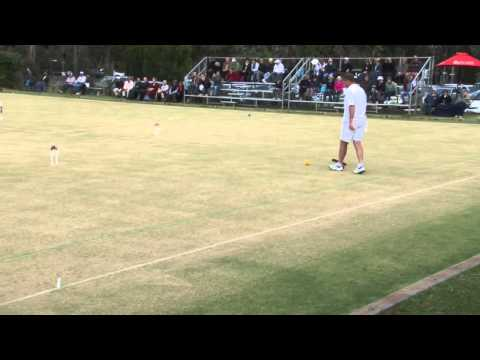 Croquet 2012 World Championships= Bamford vs Fletcher Association Croquet Game 1