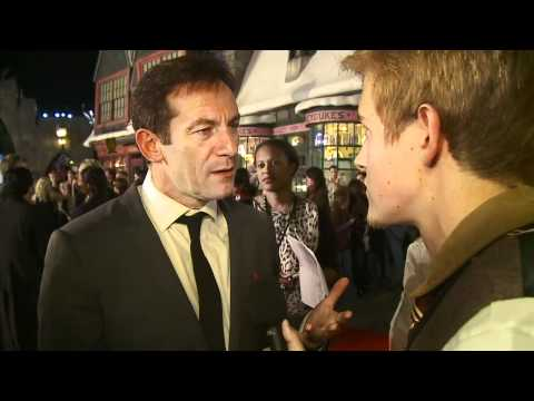 Jason Isaacs on the Red Carpet at Warner Bros. Home Entertainment Celebration