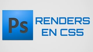 Como hacer renders en Photoshop Cs5