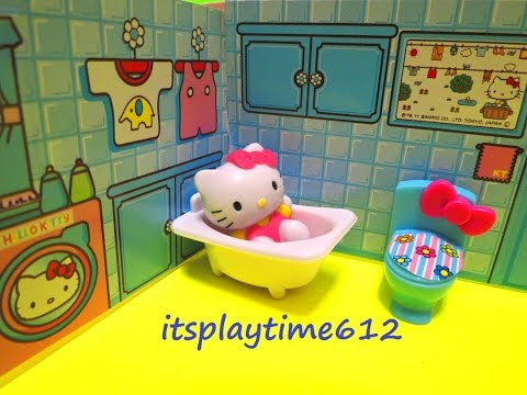 HELLO KITTY MINI PLAYHOUSE Toys Review | itsplaytime612