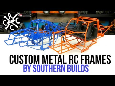Southern Builds Custom Metal RC Chassis - Monster & Mud Truck