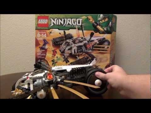 LEGO Ultra Sonic Raider Ninjago 9449 Review