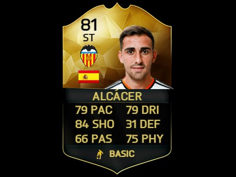 FIFA 16 Ultimate Team | Underrated Inform Ep 1 | IF Paco Alcacer Player Review