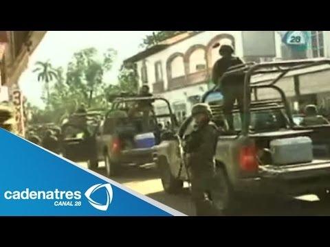 Ejército y Policía Federal asumen el control de Apatzingán luego de ataques