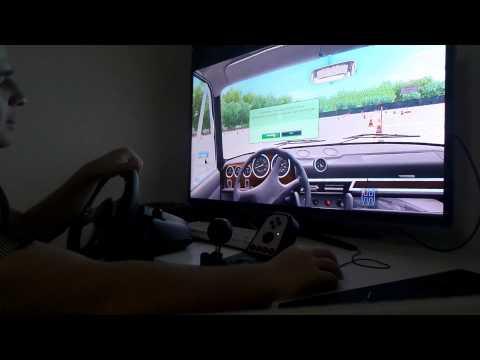 City Car Driving 1.3.1 German Review #Gameplay (1/2) G27