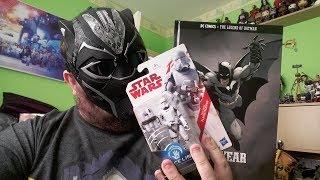 Toy Hunting Vlog - Black Panther, Star Wars Last Jedi, Batman & More!!!