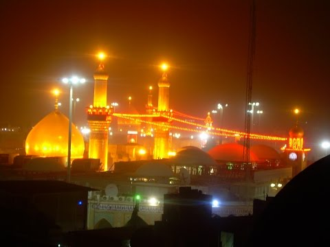 Shia Islamic Call to Prayer Azan Ali Akbar Karbala Live from (Roza) Shrine Hazrat Imam Hussain a.s