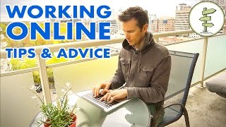 How To Start Working Online - Tips & Advice for New Digital Nomads