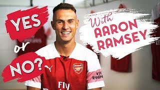 WHO IS RAMBO'S CELEBRATION FOR? | 'Yes or No' with Aaron Ramsey