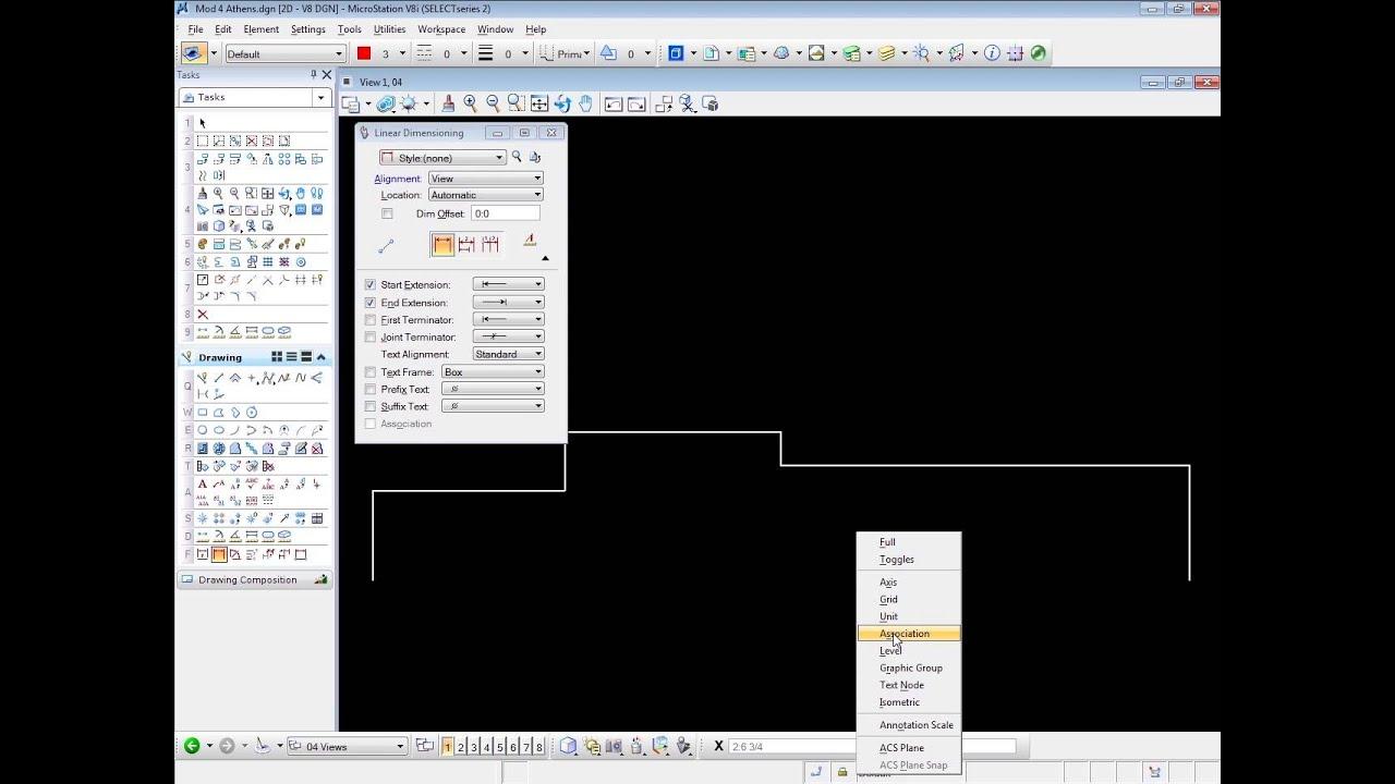 bentley microstation tutorial. Black Bedroom Furniture Sets. Home Design Ideas