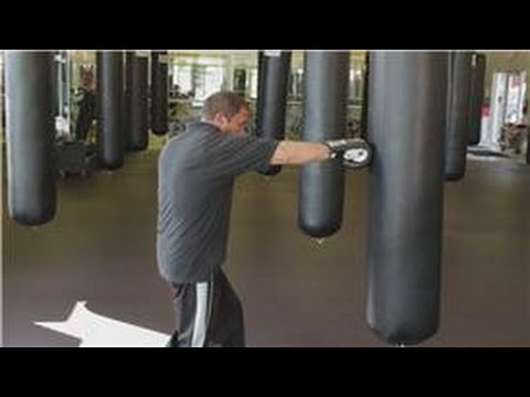 Boxing Tips : How to Punch a Boxing Bag Image 1