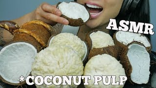 ASMR Coconut PULP *FEAST (EATING SOUNDS) NO TALKING | SAS-ASMR