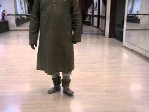 Kathak Lessons In Taal Jhaptaal By Guru Ashwani Nigam - Part 2 video