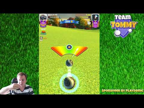 Golf Clash tips, Playthrough, Hole 1-9 - MASTER - City of Lights Tournament!