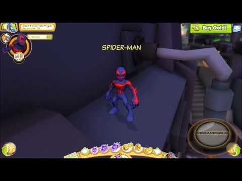 Marvel Super Hero Squad Online Spider-Man 2099 Gameplay- HD