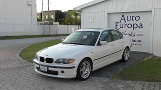The Troubled History of BMW and the Importance of the 3 Series (like this 04 E46 330i)