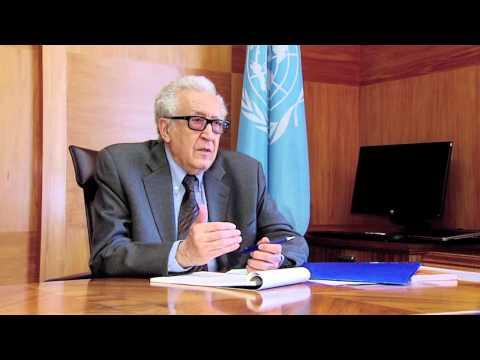 Syria Brahimi- Geneva 2