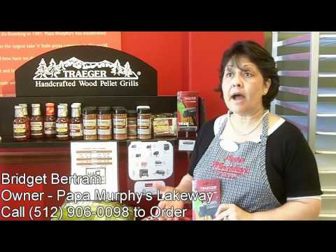 Traeger Grills Dealer Bridget Bertram With Papa Murphys LakewayTalks About Grilling
