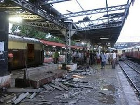 Bomb blast in chennai central railway station