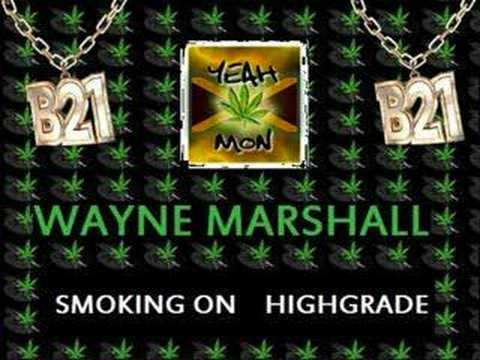 Wayne Marshall - Smoking On Highgrade Video