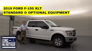 2019 FORD F-150 XLT COMPLETE GUIDE: STANDARD AND OPTIONAL EQUIPMENT