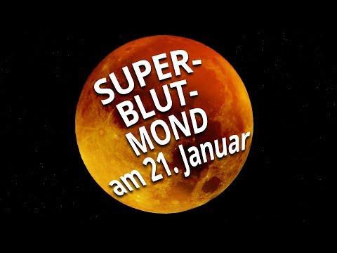 Super-Blutmond kommt am 21. Januar: Das steckt dahinter