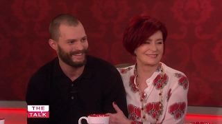 Jamie Dornan surprises Sharon Osbourne on The Talk
