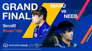 WCG 2019 GF | StarCraft 2 Winners' Final | Maru vs Neeb
