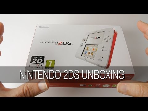 Nintendo 2DS Unboxing & First Look