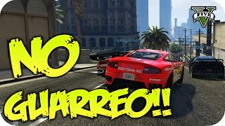 NO GUARREO!!! #214 | GTA V ONLINE FUNNY RACE c/YOUTUBERS | Por Flowstreet