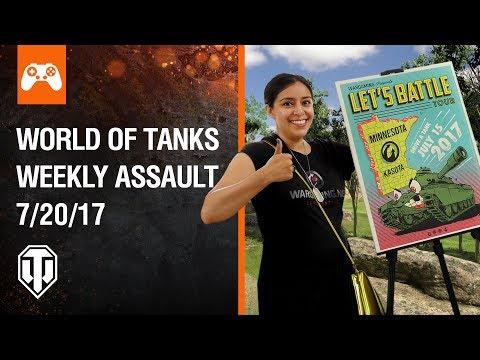 World of Tanks Weekly Assault #13
