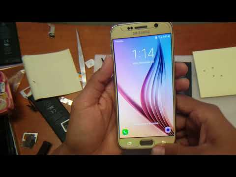 Galaxy s4. s5. s6. s7 dropped and unresponsive. screen frozen.  quick fix. done in 5 min !!!!