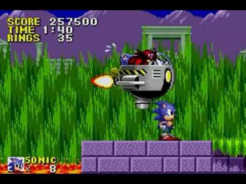 Sonic the Hedgehog Genesis (GBA) - Longplay