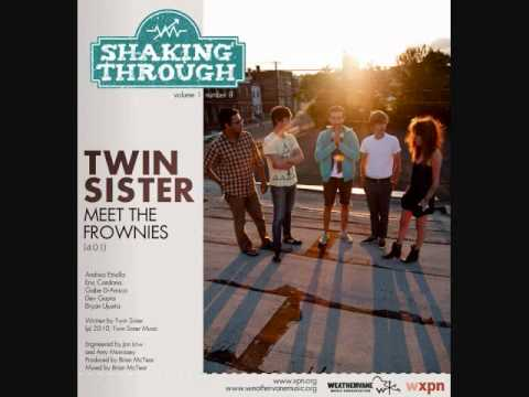 twin sister meet the frownies lyrics to amazing