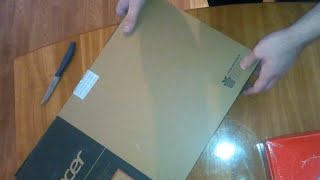 Unboxing Acer Aspire E5-573-P063 Pentium 3556 4GB RAM Intel HD