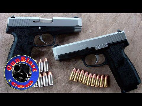 Shooting the Kahr CT9 & CT45 Full-Sized Semi-Automatic Pistols - Gunblast.com