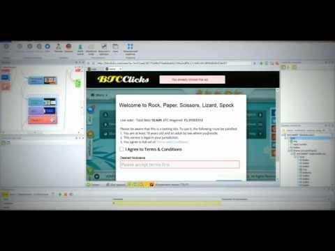 Шаблон для Zennoposter - btcclicks.com